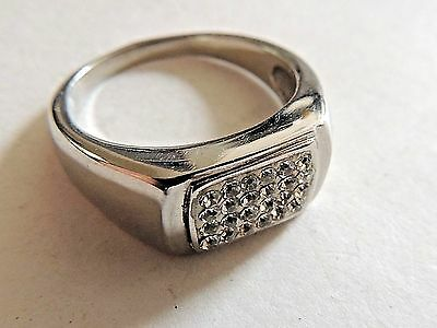 """Modern Classic """"316L Top Grade""""  Stainless Steel Ring Size 11.5"""