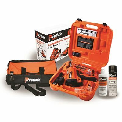 Paslode Power Vent Framer Nail Gun With Degreaser - Li-Ion Rechargable Battery