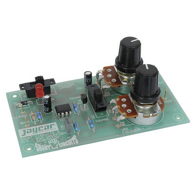 NEW Short Circuits Three Project - Waveform Generator KJ8110 Assembly Required