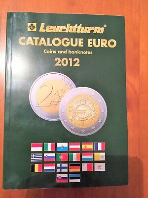 2012 EURO COIN AND BANKNOTE CATALOGUE (Leuchtturm) Used Condition