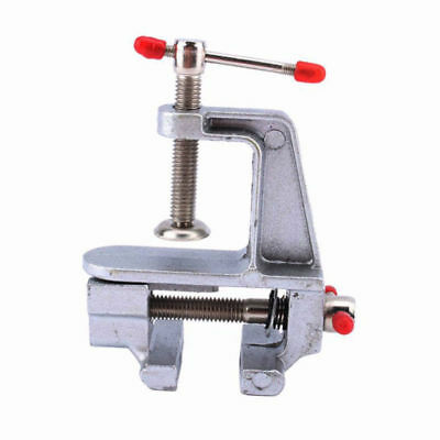 30mm Aluminum Alloy Small Jeweler Hobby Clamp On Table Bench Vise DIY Craft Tool