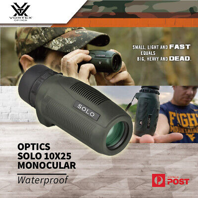 Vortex Optics Solo 10x25 Waterproof Monocular Compact Hunting Shooting Scope