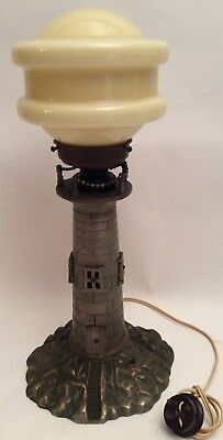 Antique Lighthouse Table Lamp