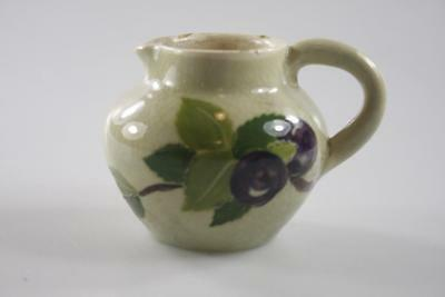 VINTAGE MARTIN BOYD AUSTRALIAN POTTERY HAND PAINTED SMALL JUG signed