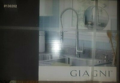 Giagni Fresco PD180PC Pulldown Kitchen Faucet Polished Chrome Finish w Soap Disp