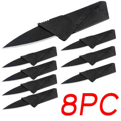 New Cardsharp Credit Card Folding Sharp Wallet Knife survival tool thin