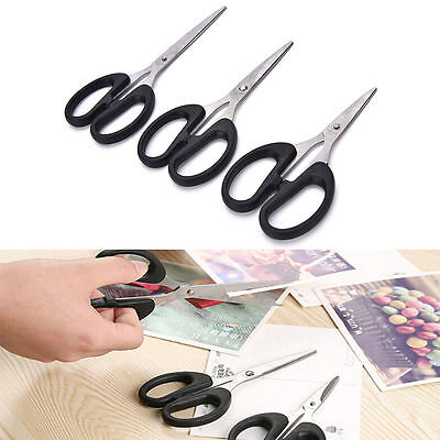 Stainless Steel Plastic Handle Embroidery/Sewing/Office/Craft Scissors.3 Szs Ava