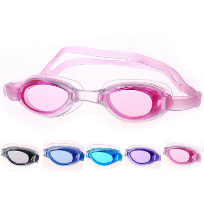 Summer Swim Goggles 2 Pack Swimming Glasses & Earplugs Set for Youth Kids Child