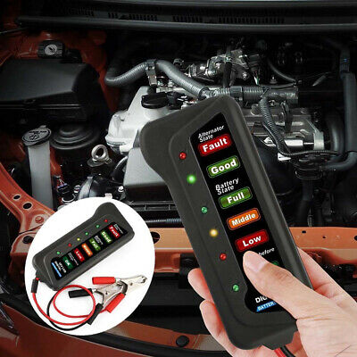 12V Car Battery Load Tester Alternator Battery Tester Analyzer Tool