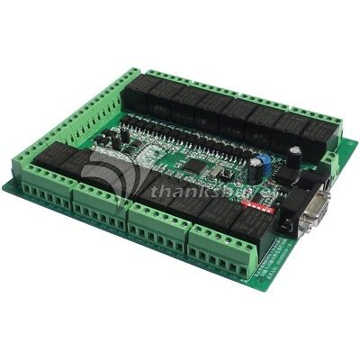 16CH Smart Relay Controller Board with Optocoupler Isolation RS485 RS232 CAN