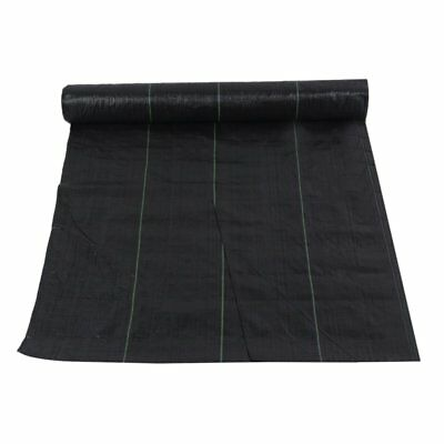 2M Wide Ground Cover Fabric Landscape Garden Weed Control Membrane Heavy Duty NS