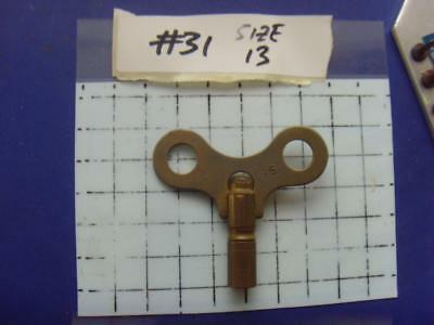 Old Clock key,   REF:k#31 size 13