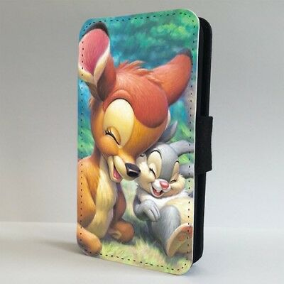 new product 55d03 cbe51 BAMBI THUMPER DISNEY Friends FLIP PHONE CASE COVER for IPHONE SAMSUNG