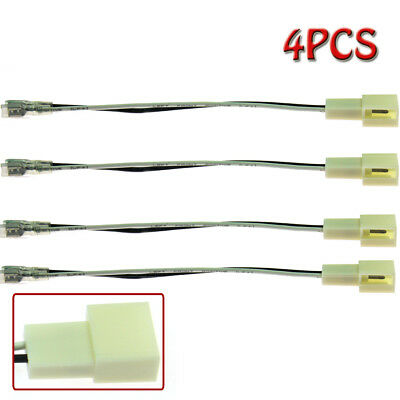 4x Car Speaker Connector Wire Harness Adapter for TOYOTA Camry 2002-2006 US Fast