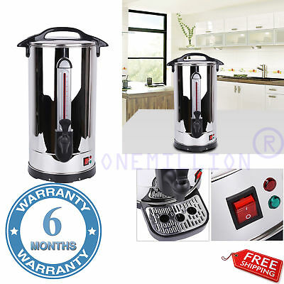 Electric 8/20/35L Commercial Catering Kitchen Hot Water Boiler Tea Urn Coffee NS