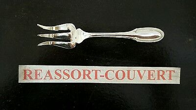Fork Service A Candy 14.5 Cm Ercuis Gadroon Silvered Metal 2601161