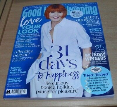Good Housekeeping magazine MAY 2018 Mary Porter, Weekday Dinners, Allergies &