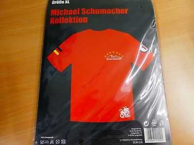 MICHAEL SCHUMACHER SHIRT • XL • neu Originalverpackung • in rot          @ 3-158