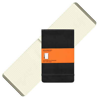 NEW Moleskine Reporter Large Ruled Notebook