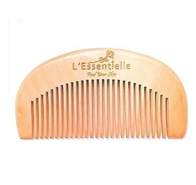 Beard And Hair Comb 100% Natural Wood