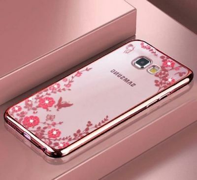 Glitter Case for Samsung Galaxy A5 A7 2018 2016 2017 J5 S9 S10 Plus Cover J4 J6