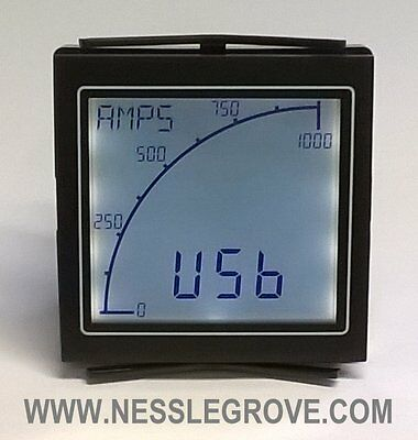 Trumeter APM-AMP-APO APM Ammeter Positive LCD with relay output