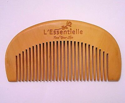 Beard And Hair Comb 100% Natural Wood No Chemicals Used 10cm By 5cm