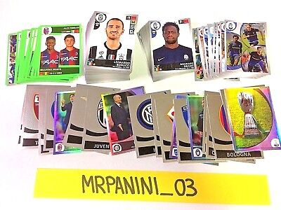 CALCIATORI 2016-17 - PANINI 2017 - lotto-stock 200 Figurine-stickers DIVERSE