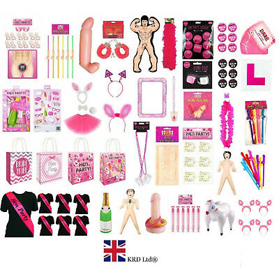 HEN PARTY ACCESSORIES Bride to Be Girls Ladies Night Hen Do Goodies Favors UK