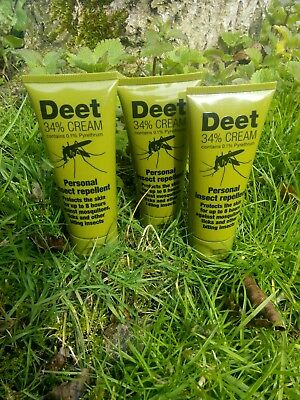 DEET BEST Insect Repellent 8 Hour Protection NEW BRITISH ARMY Issue UK MADE