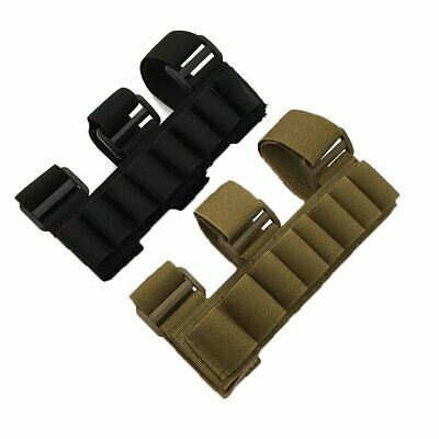 8 Rounds Shotgun Shell Holder Tactical Hunting Carrier Shooter Sleeve Pouch Bag