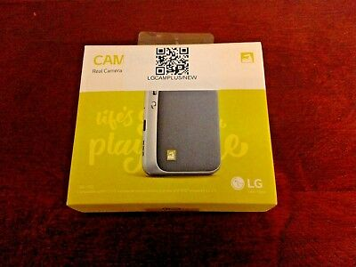 Sealed New LG CAM Plus LG G5 Camera Grip Extended Battery Shutter Button Silver