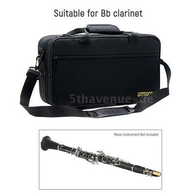 Klarinetten Koffer Gig Bag Wasserdicht 600D Portable Gig Bag Klarinetten V6Z2