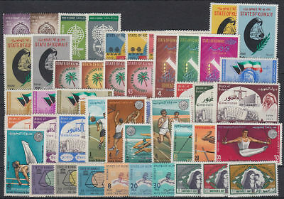 Kuwait Sammlung Collection **/MNH 330+ Marken/stamps complete sets only [st3578]