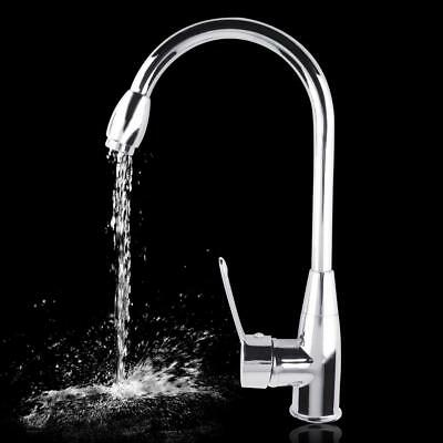 Alloy Chromed Hot/Cold Mixer Water Tap Basin Kitchen Bathroom Wash Faucet P20