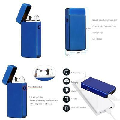 Atomic USB Electronic Flameless Rechargeable Windproof Recharge Electric Lighter