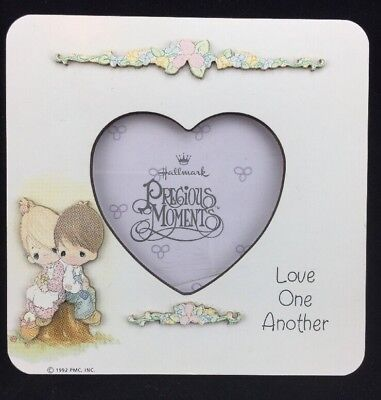 Hallmark Precious Moments Love One Another Picture Frame 4 X 4