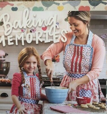 Matilda Jane Hearts & Crafts Apron Set NWT
