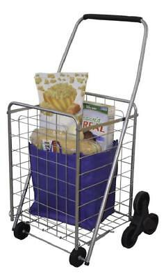 Shopping Laundry Camp Stair Climbing Grocery Cart On Wheel Folding Easy Storage