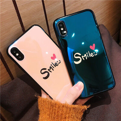 For iPhone 8 7 6s 6 X XS Cute Pattern Slim Shockproof Silicone Back Case Cover