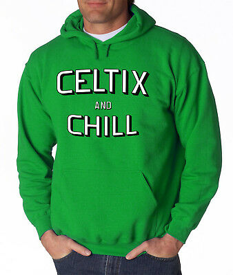 Boston Basketball Stadium Men/'s Sweatshirt Crewneck S-3X Celtics Fan MA 617