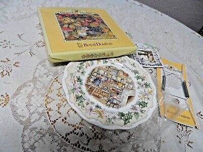 Royal Doulton Brambly Hedge The Store Stump Collector Plate NIB