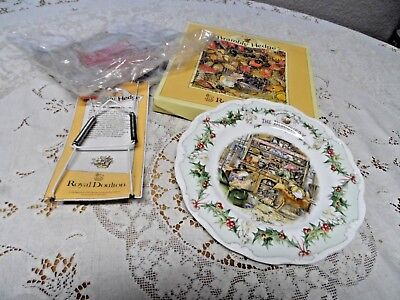 Royal Doulton Brambly Hedge The Discovery Collector Plate NIB