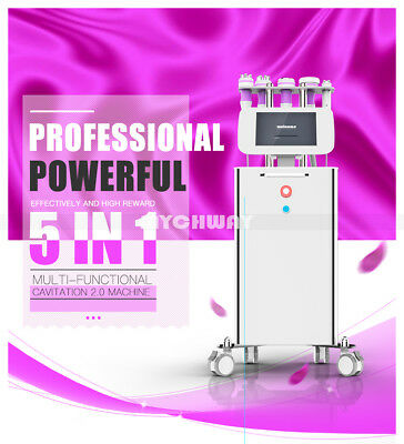 Pro 40k Ultrasonic Cavitation Ultrasound Vacuum RF Cellulite Slimming Machine a