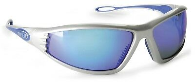 Infield Safety Endor 9032 856 Blue Mirror Protective Safety Sunglasses Eyewear