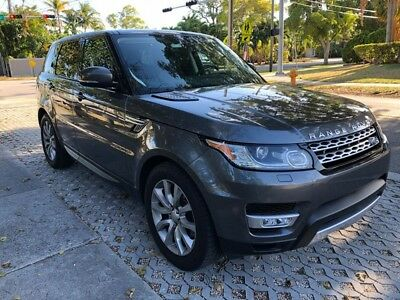 """2015 Land Rover Range Rover Sport HSE 2015 Range Rover Sport HSE Panorama Roof Heated Seats 4WD/AWD NAVI 20"""" Wheels"""