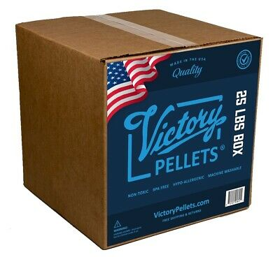 Victory Pellets (25 Pounds) Weighted Blankets, Doll and Craft Plastic Poly Beads