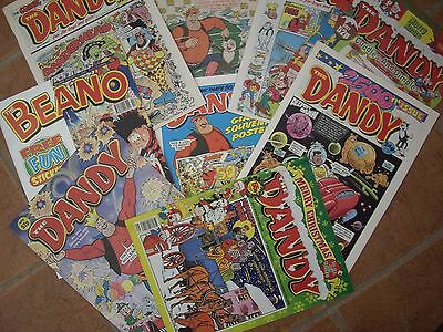 EIGHT NEW DANDY COMICS FROM (80s)(90s) & (00s)