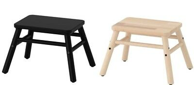 Ikea Vilto Wooden Step Stool Children's Kids Adult,Home Bedroom Bathroom,2 Color