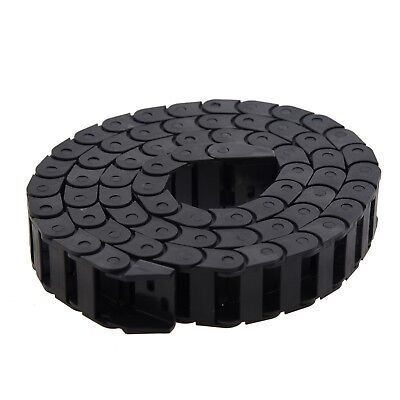 MYLB-10 x 20mm 1M Open On Both Side Plastic Towline Cable Drag Chain,1M/39.4 cab